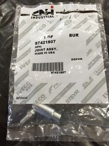 Genuine CNH Case New Holland 87421807 10-32 Spring Disconnecting Ball Joint S103