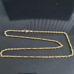 "9ct Yellow Gold Anchor/Belcher Chain 24"" 20.31gr"
