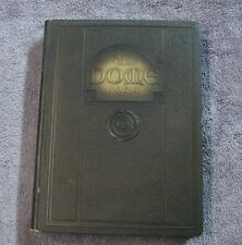 1924 NOTRE DAME UNIVERSITY YEARBOOK DOME