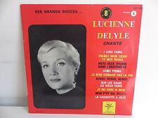 """25 CMS 10"""" LUCIENNE DELYLE Chante I love Paris ... 5370 TRS"""