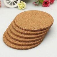 Retro Placemats Tea Tablemats Pad Round Mug Cork Coffee Coasters Cup Mat