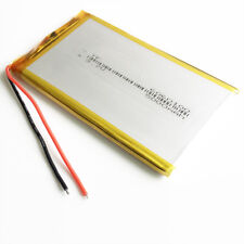 5000mAh 3.7V Li-polymer Lipo Battery 6060100 For PAD power bank tablet pc Laptop