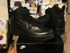 "Mens AIR FORCE 1 FOAMPOSITE CUP Shoes ""Triple Black"" AH6771 001 one Size 7 New"