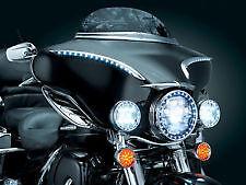 Kuryakyn Black Chrome Lighted Bat Lashes for Harley Davidson FLH (1996-2013)