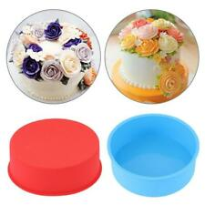 """New listing 4/6"""" Silicone Round Bread Mold Cake Pan Muffin Mould Tray Tools Bakeware!*"""