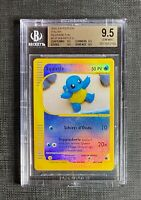 Pokemon BGS 9.5 (I T A L I A N) Squirtle Rev. Foil Expedition #131/165 Italian
