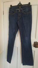 Serfontaine Los Angeles Ladies Designer Blue Jeans, Size 29 waist boot / flare