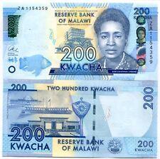 Malawi, 200 Kwacha, 2016, P-60-New, UNC > ZA - REPLACEMENT