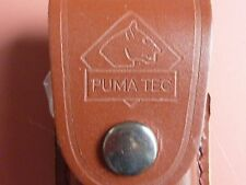 Protek folding knife with Puma  leather pouch