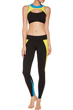 RRP €125 LIVE THE PROCESS Sports Bra Size M Criss Cross Back Made in USA