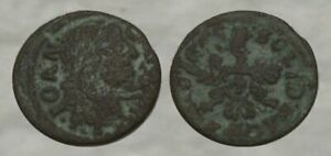 ☆ REMARKABLE !! ☆ 300+ Year Old Colonial Coin ☆ w/ EAGLE !!!