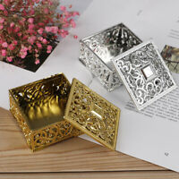 Plastic Treasure Trinket Box Square Candy Box Treasure Chest Favor Box ER
