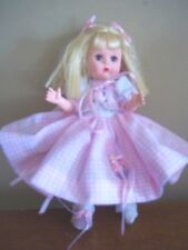 """I CAN TIE MY SHOES rare MADAME ALEXANDER 8 """" hard plastic DOLL mothers day gift"""