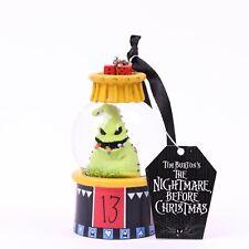 Oogie Boogie Mini Snowglobe Ornament Disney Parks