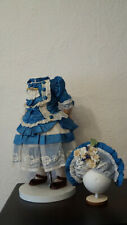 dress   and hat for your beautiful French  or German antique doll  .