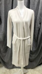 Restoration Hardware Cashmere Spa Robe, Natural, XSmall