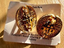 24ct Gold Plated P&O Cufflinks By Finecraft Sydney