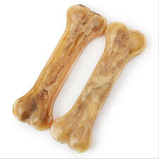 2pcs 5inch Healthy Dainty Snack Food Treats Bones For Pet Dog Clean Mouth
