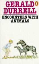 Encounters with Animals by Durrell, Gerald Paperback Book The Cheap Fast Free