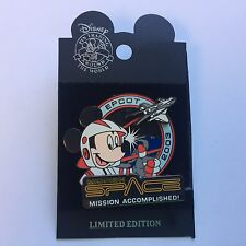 WDW - Mission Space Mission Accomplished LE 2000 Disney Pin 25652