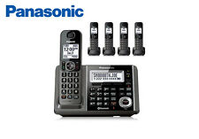Panasonic KX-TG465SK Cordless Phone Answering Machine + 5 handsets Link-to-Cell