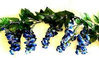 Wisteria Garland Artificial Silk Flowers Wedding Arch Chuppah Hanging Vines Fake