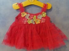 BUILD A BEAR CLOTHES PINK DRESS WITH FLOWERS