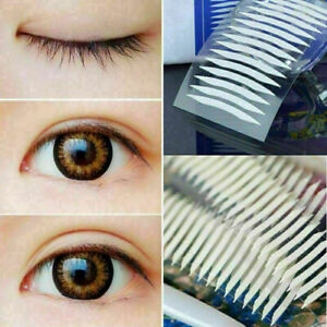 12 pairs White Thin Invisible Double-sided Eyelid Clear Adhesive H4C4