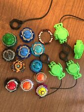 Lot of Beyblades and Launchers