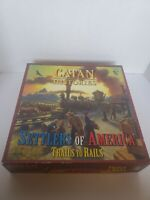 Catan Histories: Settlers of America (Board Game, 2012) Mayfair 3203 COMPLETE