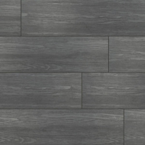 Vinyl Plank Flooring 7 in. x 12 in. Waterproof Bont Charcoal Oak