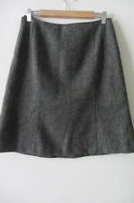 MOSCHINO wool grey skirt, size 46, AUS 10-12, NEW