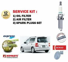 FOR MAZDA DEMIO 1.3i 1.5i 1998-2003 SERVICE KIT OIL AIR FILTERS + PLUGS SET