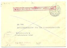 NEDERLAND 1944-7-29  DDP UTRECHT LOKAAL   @2