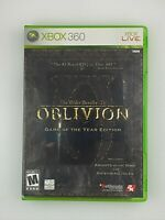 The Elder Scrolls IV: Oblivion Game of the Year - Xbox 360 Game -Complete w/ Map
