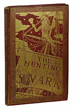 PRESENTATION BINDING ~ Hunting of the Snark LEWIS CARROLL First Edition 1st 1876
