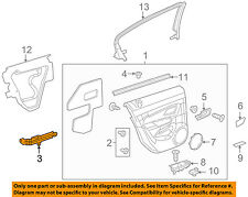 Chevrolet GM OEM 11-15 Cruze Center Console-Trim Cover 95948498