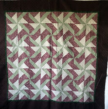Handmade Wall Hanging machine pieced patchwork top backing batting pre-basted