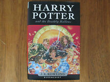HARRY POTTER AND THE DEATHLY HALLOWS 2007 J.K. Rowling   H/B 1st Edition