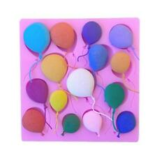 3D Silicone Balloons Cake Fondant Sugarcraft Mould Chocolate Decor Mold DIY Tool