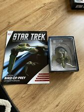 More details for star trek eaglemoss issue 107 klingon bop attack position model with magazine