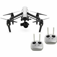 DJI Inspire 1 RAW Quadcopter with Zenmuse X5R 4K Camera & 2 Remotes