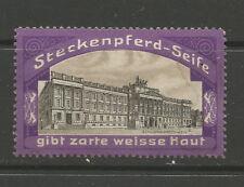 Steckenpferd Soap advertising stamp/label (Brunswick Palace)