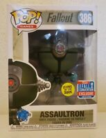 Funko POP! Games - Fallout Vinyl Figure - ASSAULTRON (Glows in the Dark) #386