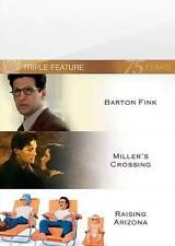 Barton Fink/Millers Crossing/Raising Arizona (DVD, 2010, 3-Disc Set, Fox 75th An