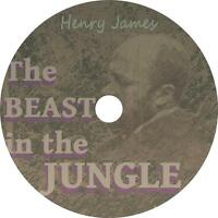 The Beast in the Jungle, Henry James Classic Parable Audiobook on 1 MP3 CD