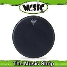 "New Remo 10"" Black Suede Ambassador Drum Skin - 10 Inch Drum Head - BA-0810-ES"