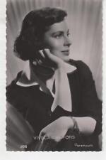 VIVECA LINDFORS Carte Postale ancienne 1954 PARAMOUNT n°398