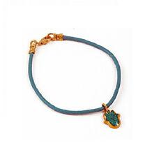 Hamsa Bracelet - Turquoise by Adina Plastelina