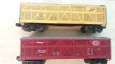 MTH O Scale Rail King CNW 15034, NYC 74106 Stock Cars (Set of 2)